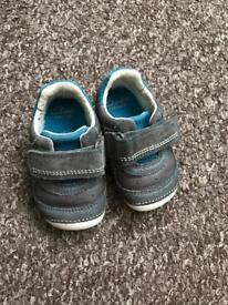 Baby infant shoes Clark's 3h