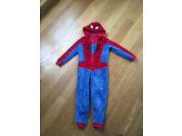 Spider-Man onesie