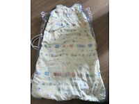 Marks and Spencers pure cotton sleeping bag for babies