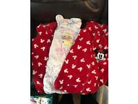 3 x 6-12 months baby sleep bags