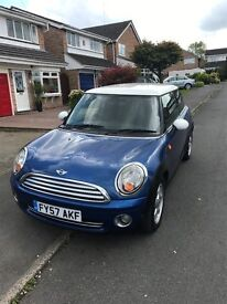 Mini Hatch 1.6 Cooper 3dr 6 speed stop and start