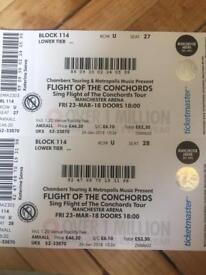 2x Flight of the Conchords Tickets - Manchester
