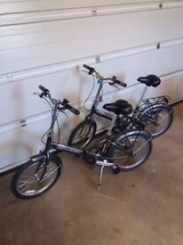 2 Raleigh Folding Bikes