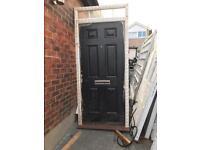 New composite exterior door