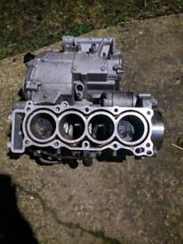 Seized Yamaha R6 Engine Block