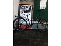 Good Condition Unisex Purple Challenge Meander Mountain Bike