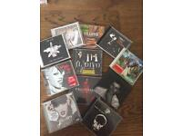 Collection of cd's