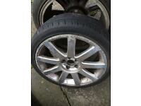 "Genuine Vw/Audi 17"" alloys 5x100"