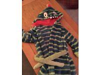 Dragon bathrobe