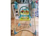 Fisher 2 in 1 swing rocker