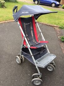 Maclaren major elite RRP £309 like new used for a few weeks