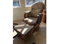Breast feeding chair & stool