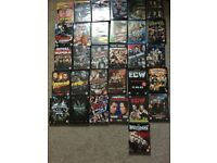 Huge Collection of 31 WWE Wrestling DVD's