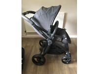 Egg pushchair package immaculate condition quantum grey limited edition