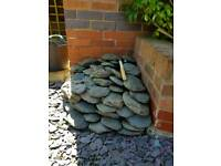 Paddlestones, various sizes as indicated by photograph.