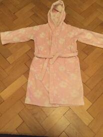 Little White Company hooded dressing gown aged 5-6