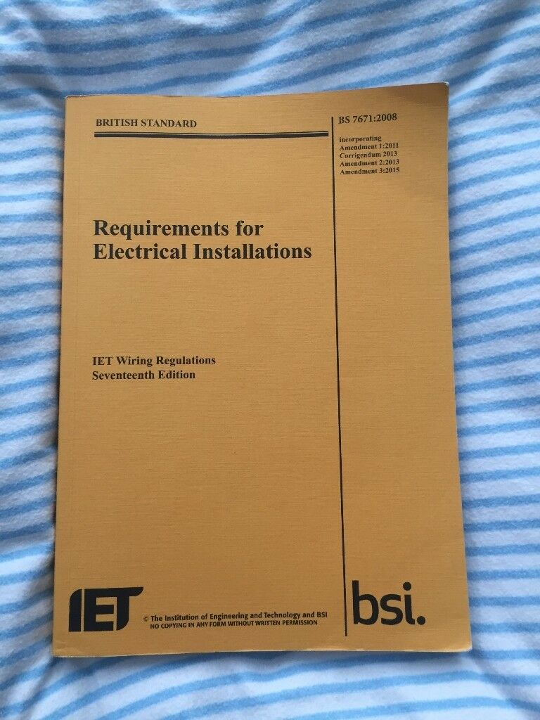 Iet Wiring Regulation 17th Edition 2015 In Roundhay West Regs Books