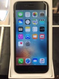iphone 6 64gb unlocked space grey/silver mint