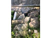 FREE - Yorkshire sandstone and slate