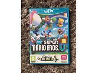 Super Mario bros and super Luigi for Wii U Excellent condition