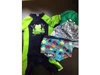 Kids swimming bundle 3-6months