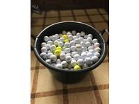 Mixed golf balls Roughly 700+!
