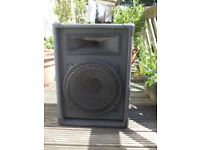 Speakers for PA system 39 X 30 X 55cm