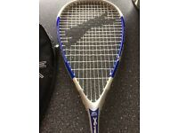 New Slazenger Xtreme Titanium Squash Racket with 3 new balls