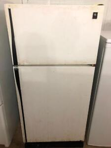 """GE 30.5"""" Wide Beer/Garage Fridge, Free 30 Day Warranty, Save The Tax Event"""