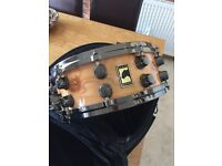 Mapex Black Panther Special Edition Elm Finished Maple Snare Drum - Rare