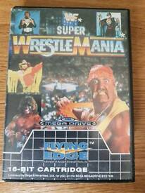 Super wrestlemania megadrive game