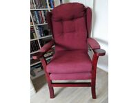 HSL high back armchair in excellent condition