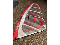 Windsurfing sail - Yes Sail - Wave side 4.7