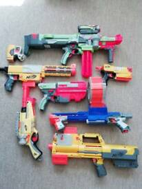 Bundle of nerf guns (can be brought individually)