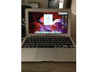 Mac Book Air 121GB flash storage 2012 Silver Good Condition Apple BOXED