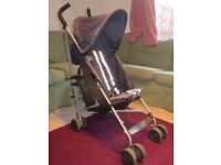Maclaren Triumph buggy blue. Perfect working order. Collect Reddish, Stockport