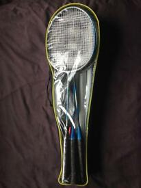 Badminton Set 6 rackets and net