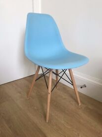 Blue Heymes-style Chair