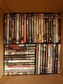 HUGE DVD BUNDLE - 300+ DVDs - EXCELLENT CONDITION, MANY VIEWED ONLY ONCE, ALL IN CASES