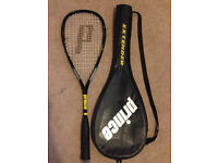 Squash Racket Prince Extender and Carry Case