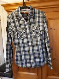 Superdry Ladies Checked Shirt