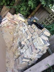 525 Reclaimed Cambridge Bricks for sale