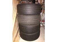 4 tyres Bridgestone 205 / 50 / R17. 93W