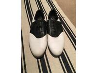 Nike leather golf shoes
