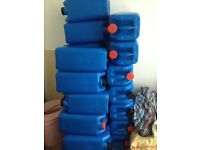 25L Plastic Water Storage Containers Petrol Diesel Jerry Can Fuel Jerrycans Drums Barrel Water Butt