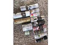 Brand new shabby chic rustic rustoleum paint & spray paint glitter chalk white