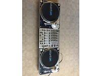 2 x Stanton T 80 Turntable Decks with DJX700 Professional DJ Mixer **PLEASE READ**