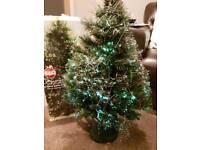 Small fibre optic Christmas Tree 81cm