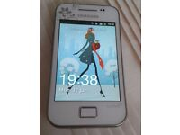 Samsung Galaxy Ace la fleur GT-S5830I - WHITE Unlocked