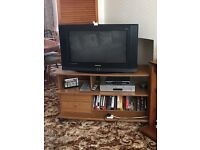 Samsung television with stand